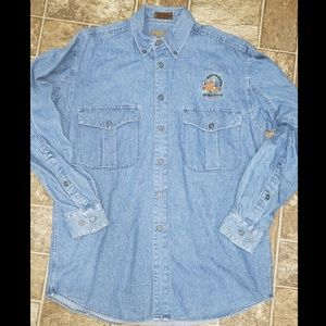 Browning Denim Button-Up Hunting Men's Shirt